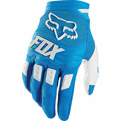 Fox Racing Dirtpaw Blue MX Race Gloves Adult size Large