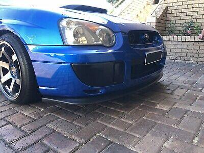 Ultrex Front Lip Spoiler For Subaru Impreza Wrx Sti My03 My04 My05 Sedan Only