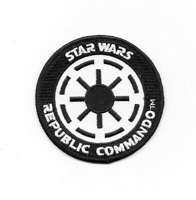 Star Wars Imperial Republic Commando Logo Embroidered Patch NEW UNUSED