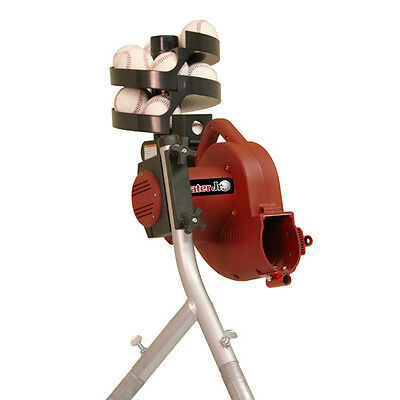 Heater Junior Baseball Pitching Machine with Auto Ball Feeder