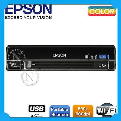 Epson WF-DS40 USB/Wi-Fi Mobile Docu Scanner Scan to Business Card/Cloud RRP $199