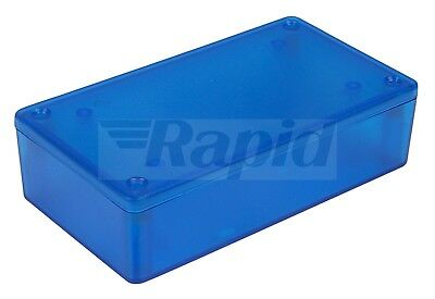 Hammond 1591XXBTBU ABS Enclosure Multipurpose Translucent Blue 113 x 63 x 31mm