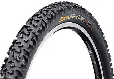 "Continental Gravity Rigid 26 x 2.30"" Wire Bead Mountain Bike Tyre in Black 770g"