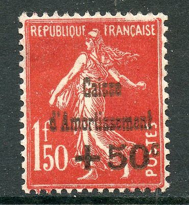 Promo Stamp / Timbre / France Neuf Caisse Amortissement N° 277 ** Cote 235 €