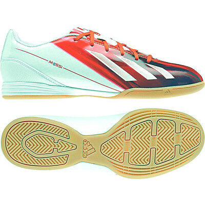 hot sales 9166c cbc56 Adidas F10 IN Messi Shoes Football Boots Indoor Size 42-46 Red-White NEW