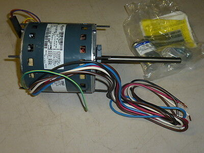 NEW! GE BLOWER MOTOR 1/2HP, 1075 RPM, 460V, Fr: 48, PSC, OAO, 5KCP39PGU957S