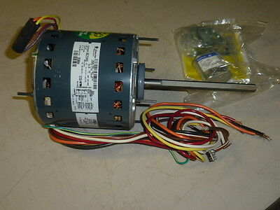 NEW! GE BLOWER MOTOR 1/2HP, 1075 RPM, 277/230V, Fr: 48, PSC, OAO, 5KCP39PGBC29S
