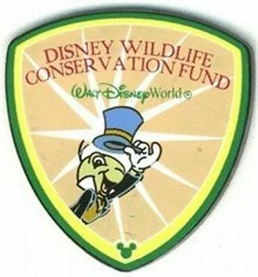 Jiminy Cricket Wildlife Conservation Wdw Disney Pin 21565