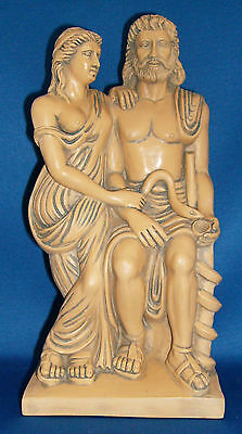 Greek Goddess of Nursing God of Medicine Hygieia Hygea Asclepius Statue #HYA