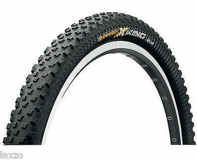 Continental X-King 26 x 2.4 Inch Rigid Mountain Bike Tyre Black All Rounder Tire