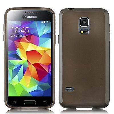 New Smokey Hydro Gel Case Cover Skin + Film For Samsung Galaxy S5 Mini 2014