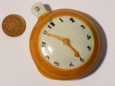 "Antique VERY RARE Prattware Pearlware "" Pair Cased Pocket Watch "" GO-WITH Hutch"