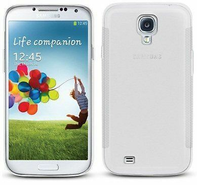 New Clear Hydro Gel Case Cover Skin + Film For Samsung Galaxy S4 2013
