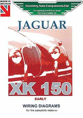 Jaguar Early XK150 Exploded Wiring Diagram Book (9188)