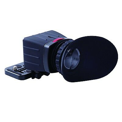 Movo Photo VF25 Universal 2.5X LCD Video Viewfinder for HD DSLR & SLR Cameras