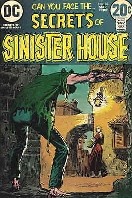 SECRETS OF SINISTER HOUSE #10 F, Neal Adams art(i), DC Comics 1973