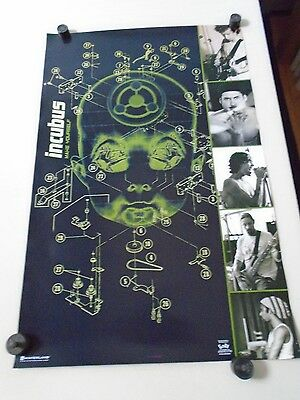Incubus - Orig. Vintage poster #7592 / Make Yourself / Exc.+ New cond. 22 x 34""