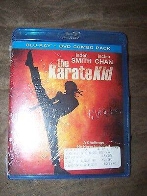 Karate Kid Blu-Ray + DVD Combo Pack New Still Sealed Jaden Smith Jackie Chan
