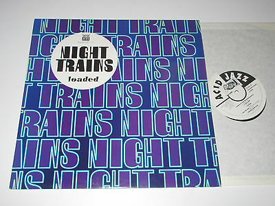 "12""/acidjazz/night Trains/loaded/jazid Lp 18"