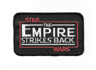 Star Wars: The Empire Strikes Back Name Logo Embroidered Patch NEW UNUSED