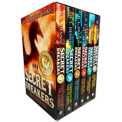 Secret Breakers Series Collection H L Dennis 6 Books Box Set Power of Three NEW