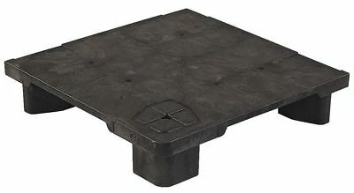 Pallet,24 in. L x 24 in. H,Black ZORO SELECT 24X24 MODULAR POP PALLET