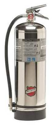 BUCKEYE 50000 Unfilled Fire Extinguisher, 2A, 2.5 gal, Water, 25inH