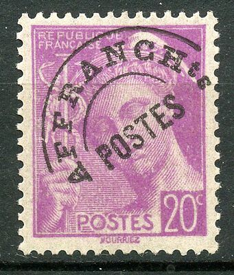 Timbre France Preoblitere N° 78  Type Mercure / Neuf Sans Gomme