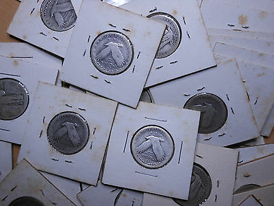 1 Roll Dateless 90% Silver Standing Liberty Quarters - $10 Face Value - 40 Coins
