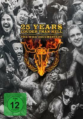 25 Years Louder Than Hell: The W:o:a Documentary New Dvd