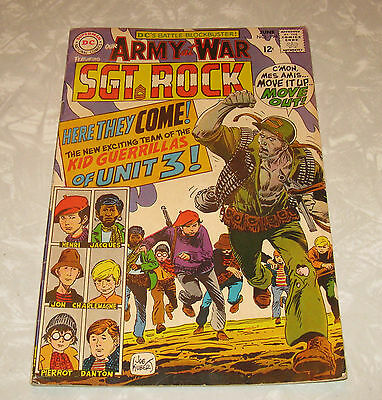 Our Army at War SGT ROCK #194 (June 1968) VG+++ Condition Comic