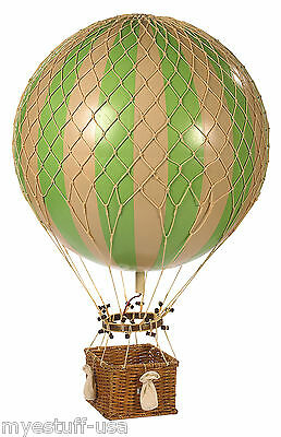 Jules Verne Balloon, True Green by Authentic Models AP168G