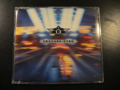 Erasure STAR German Import 4-trk CD Maxi Single 826.935