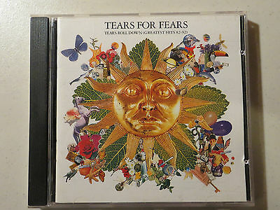 Tears for Fears  (cd) Tears Roll Down {Greatest Hits 82-92} ~ VG+