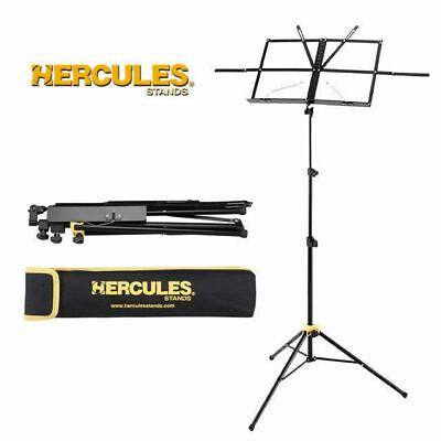 Hercules BS050B Compact Music Stand with bag