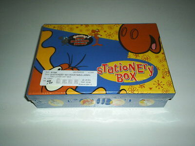 The Adventures Of Rocky & Bullwinkle Stationary Box Still Shrink Wrapped