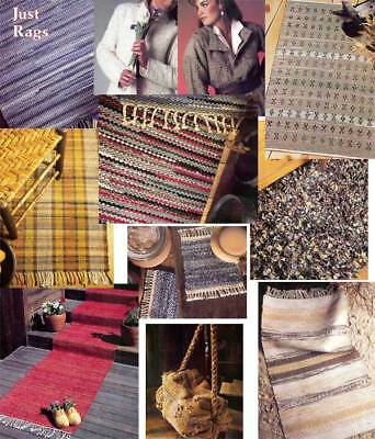 Handwoven's Design Collection 8: weaving rag rugs
