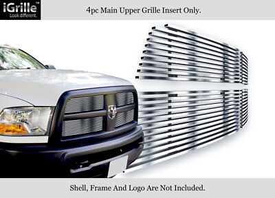 Premium! 304 Stainless Steel Billet Grille 2010-2012 Dodge Ram 2500/3500