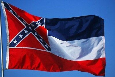 MISSISSIPPI STATE FLAG NEW 3x5 ft U.S. made