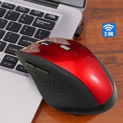 1pc 2.4GHz Wireless Cordless Optical Scroll Computer PC Laptop Mouse USB