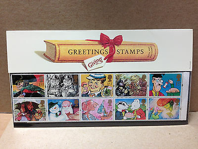 Great Britain Presentation Pack 1993 Greetings Messages 10 Mint Stamps |