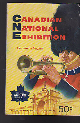 Canadian National Exhibition Book 1957 Canada On Display Toronto