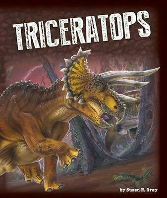 Triceratops by Susan H. Gray (English) Hardcover Book Free Shipping!