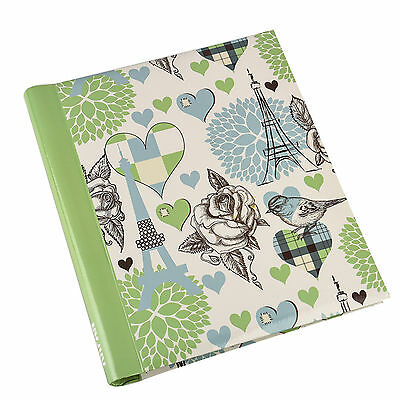 Arpan Large 20 Sheet Self Adhesive Photo Album Vintage Travel Green - AL-9160