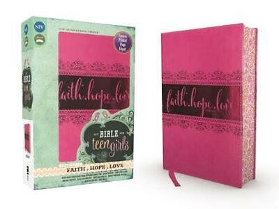 NIV Bible for Teen Girls by Zondervan Publishing Leather Book (English)