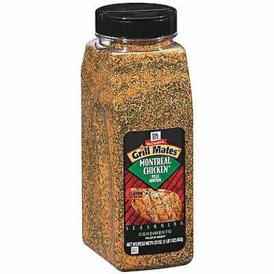 McCormick Grill Mates MONTREAL Chicken Seasoning 23oz
