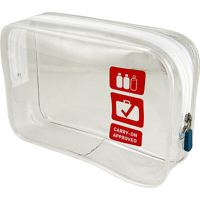 Flight 001 Clear Carry-On Quart Bag (S) - Clear Toiletry Kit NEW