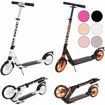 Adult iScoot X10 City Suspension Push Kick Scooter Folding Large 200mm Wheels