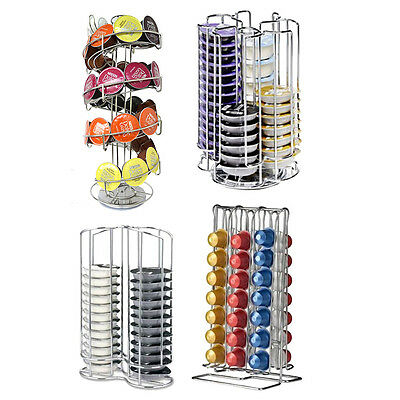 Nespresso Tassimo Dolce Gusto Coffee Pod Capsule Holder Storage Stand Tower