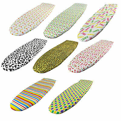 Fast Fit Elasticated Ironing Board Cover Easy Fit Non Slip Washable Cotton Iron